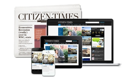 26- or 52-Week Sunday Subscription or 52-Week Digital Access to the Asheville Citizen-Times (Up to 81% Off)