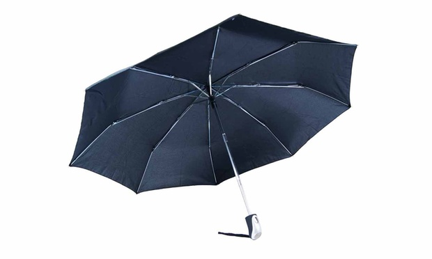 Automatic wind resistant umbrella groupon goods for Wind resistant material