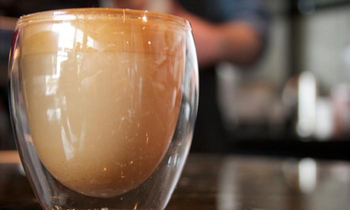 Café Cesura - Downtown Bellevue: 5 or 10 Coffees or Teas at Café Cesura (Up to 58% Off)