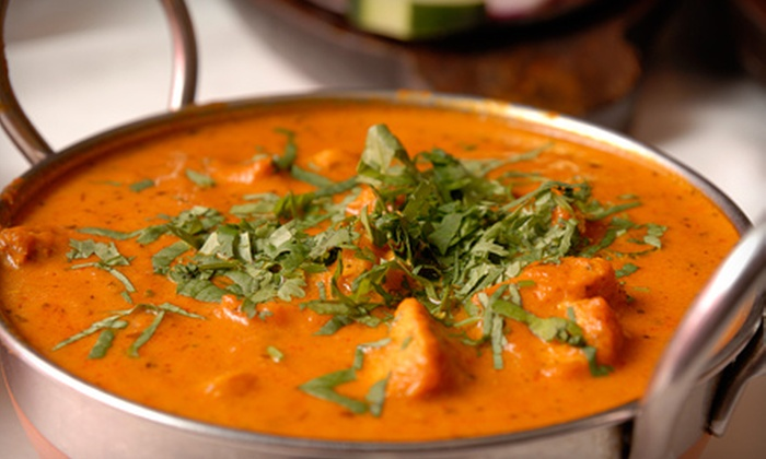 Guru Indian Restaurant - Ridgefield,Tenney Circle,The Oaks: Four-Course Indian Meal for Two or Four or $20 for $40 Worth of Indian Fare at Guru India Restaurant in Chapel Hill