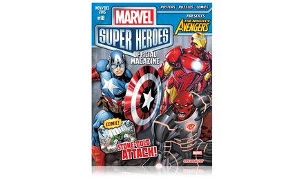 1-Year, 6-Issue Subscription to Marvel Super Heroes Magazine