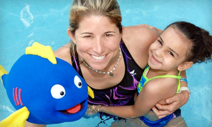 Swim with Mr. Blue - Multiple Locations: $35 for Four Weeks of Youth Swim Lessons at Swim with Mr. Blue ($80 Value)