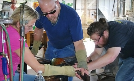 1 Introductory Glassblowing Lesson with All Materials and Equipment ($200 value) - Stone and Glass in San Diego