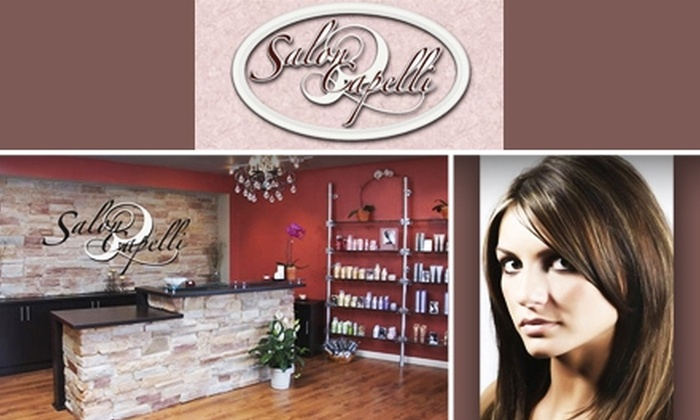 Salon Capelli - Rockville: $50 for $100 Worth of Hair, Waxing, and Make-Up Services at Salon Capelli