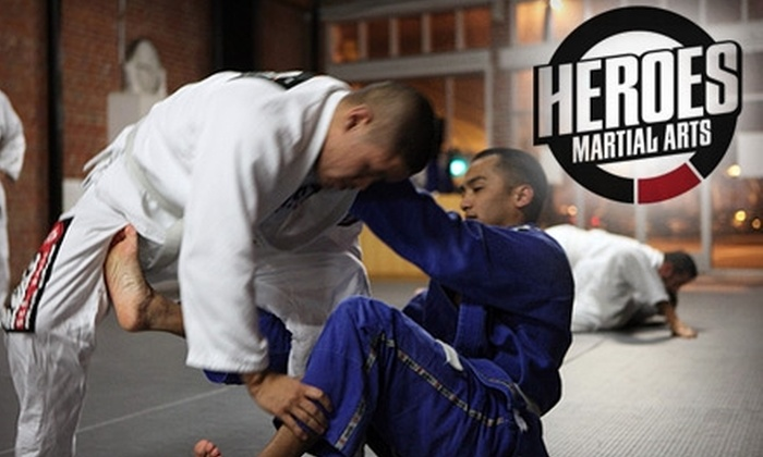 Heroes Martial Arts - Downtown San Jose: $15 for a One-Week Pass to Heroes Martial Arts ($80 Value)