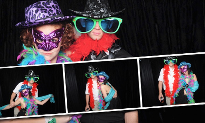 Foto Box - Tampa Bay Area: $397 for a Four-Hour Photo-Booth Rental from Foto Box ($795 Value)