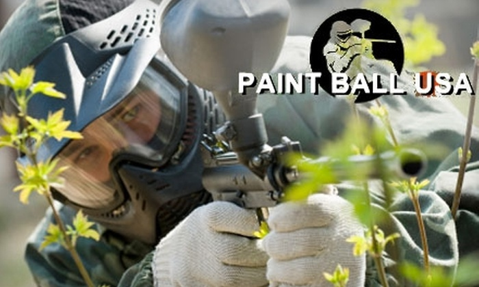 Paintball USA - Agua Dulce: $30 for a Top Gun Package at Paintball USA in Santa Clarita ($60 Value)