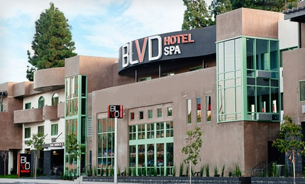 Good for a 1-Night Stay for 2 Adults and up to 2 Children in a BLVD Suite and a $50 Spa or Food Credit - The BLVD Hotel & Spa in Los Angeles