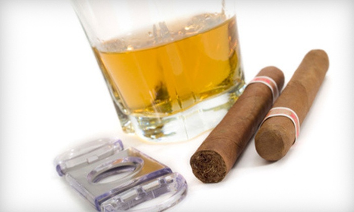 8Eightyeight Cigar Merchants - Downtown Fullerton: $20 for a Cigar-Lounge Membership Package with Event Entry at 8Eightyeight Cigar Merchants in Fullerton ($115 Value)