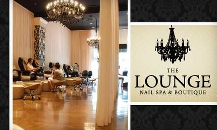 The Lounge Nail Spa & Boutique - Multiple Locations: $25 for a Deluxe Mani-Pedi at The Lounge Nail Spa & Boutique ($50 Value)