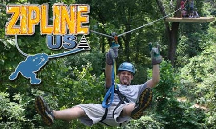 Zip Line USA - Durango: $37 for a Treetop Canopy Zip-Line Tour