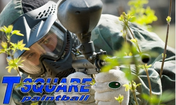 T-Square Paintball - Hill: $7 for All-Day Play at T-Square Paintball in Jacksonville