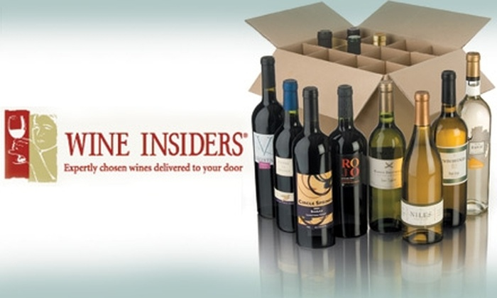 Wine Insiders' Online Store: $25 for $75 Worth of Wine from Wine Insiders' Online Store