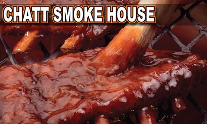 Chatt Smoke House - Martin Luther King Neighborhood Association: $7 for $15 Worth of Barbecue Fare and Drinks at Chatt Smokehouse