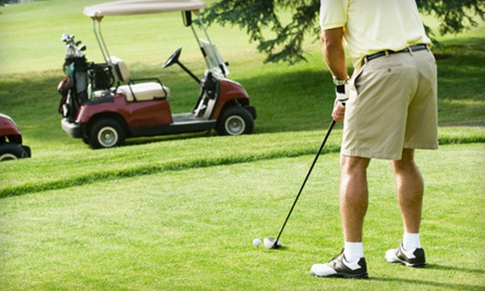 Vargo Golf Company - Multiple Locations: 18 Holes of Golf for One or Two with Cart and Lunch from Vargo Golf Company (Up to 54% Off). 12 Options Available.