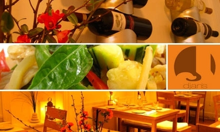 Djan's - Wallingford: $17 for $35 Worth of Tasty Thai Cuisine and Drinks at Djan's