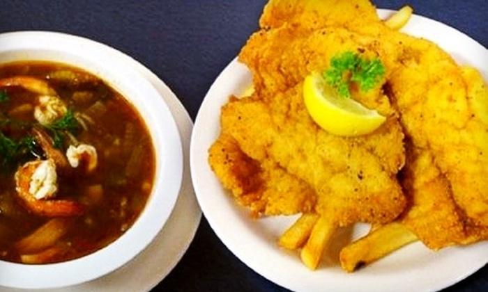 Bayseas on Blanco - Uptown Loop: $12 for $25 Worth of Gulf Coast Seafood at Bayseas on Blanco