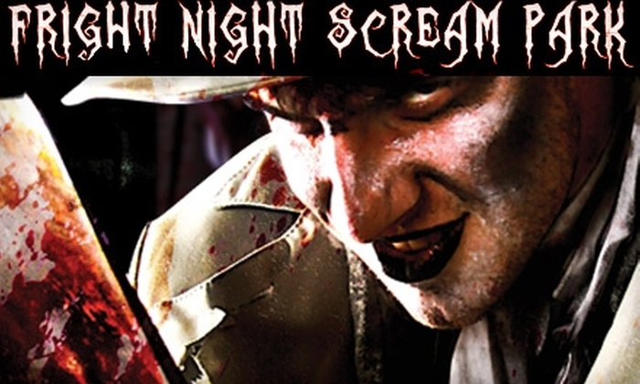 Fright Night Scream Park - Clovis: $15 for VIP Combo Ticket to Fright Night Scream Park ($30 Value)