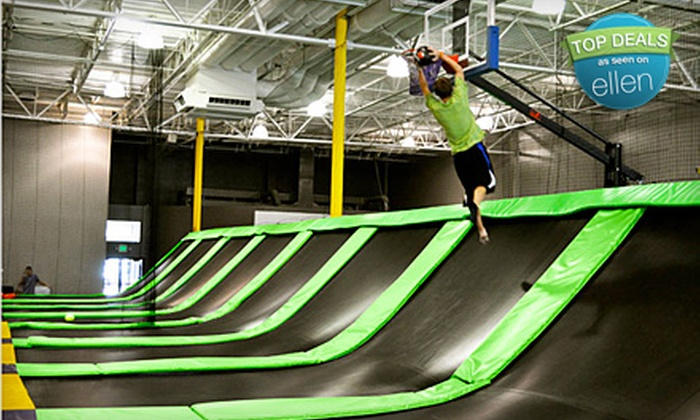 G6 Airpark - Meadow Homes: 2 Consecutive Hours or 10 Anytime Hours of Trampoline Jump Time at G6 Airpark in Vancouver (Up to 60% Off)