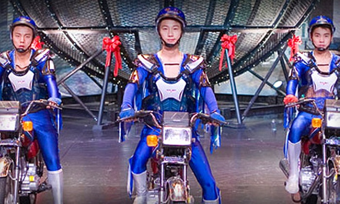 Cirque de Chine - Sevierville: Admission for Two or Four to Cirque de Chine in Sevierville