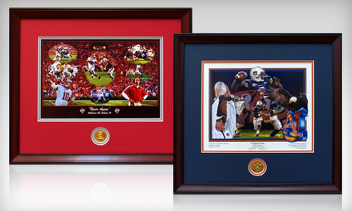 Framed College Football Art: $25 for $50 Worth of Framed College-Football Photographs and Artwork from Framed College Football Art