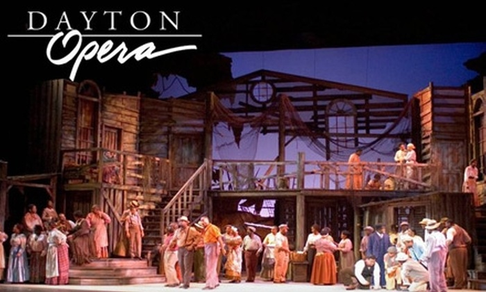 "Dayton Opera - Downtown: Tickets to ""Porgy and Bess"" at the Dayton Opera (Up to $87 Value). Choose From Three Seating Options."
