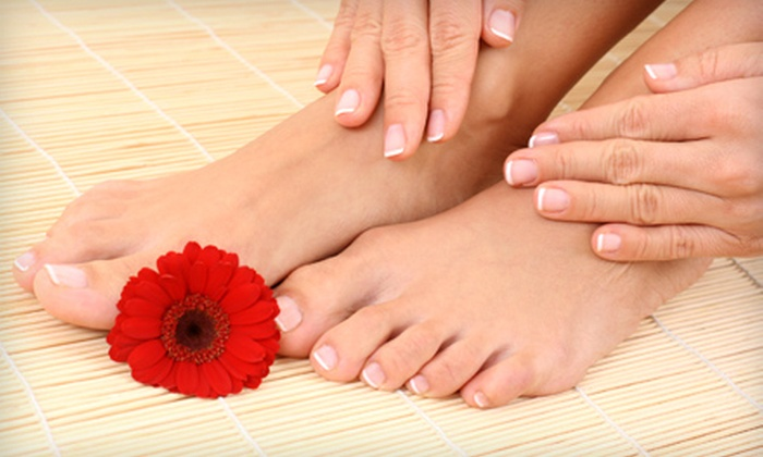 Parisian Spa Institute - Jacksonville: $18 for Two Spa Mani-Pedis at Parisian Spa Institute ($36 Value)