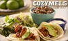 Cozymel's Mexican Grill (all locations US) - East Garden City: $15 for $30 Worth of Coastal Mexican Fare and Drinks at Cozymels Mexican Grill