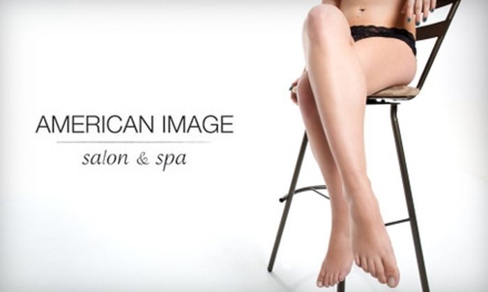 American Image - St Louis: $15 for $33 Worth of Waxing Services at American Image Salon & Spa