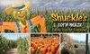 Shuckle's Corn Maze - Gallatin: $5 for a Corn Maze and Hayride Combo Pass at Shuckle's Corn Maze in Gallatin/Henderson ($10 Value)