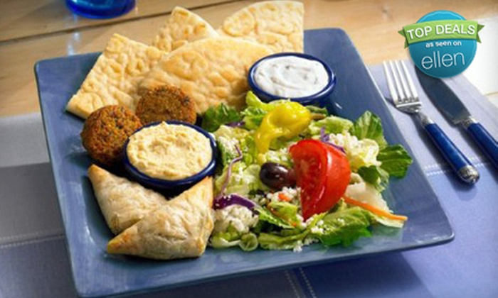 Dino's Gyros - Multiple Locations: $10 for $20 Worth of Greek Fare at Dino's Gyros. Six Locations Available.