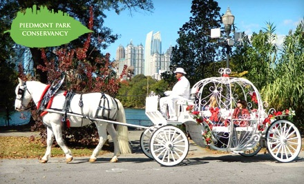 Carriage Ride for Two (a $40 value) - Piedmont Park in Atlanta