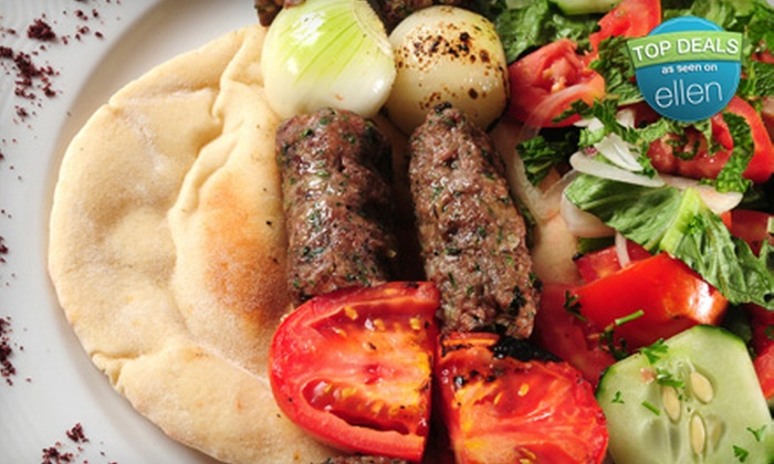Molana Restaurant - Downtown Watertown: Persian Cuisine at Molana Restaurant in Watertown (Half Off). Two Options Available.