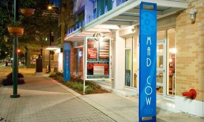 """Mad Cow Theatre - Central Business District: $13 for One Ticket to """"Who's Afraid of Virginia Woolf?"""" at Mad Cow Theatre (Up to $27 Value)"""