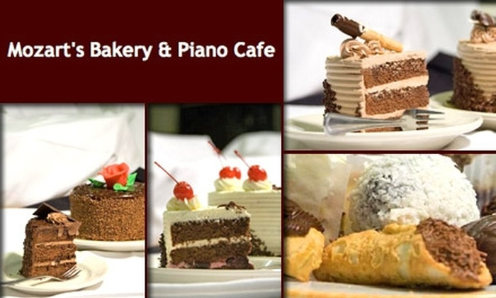 Mozart's Cafe - Columbus: $5 for $15 Worth of Pastries, Cakes, and More at Mozart's Bakery & Piano Cafe