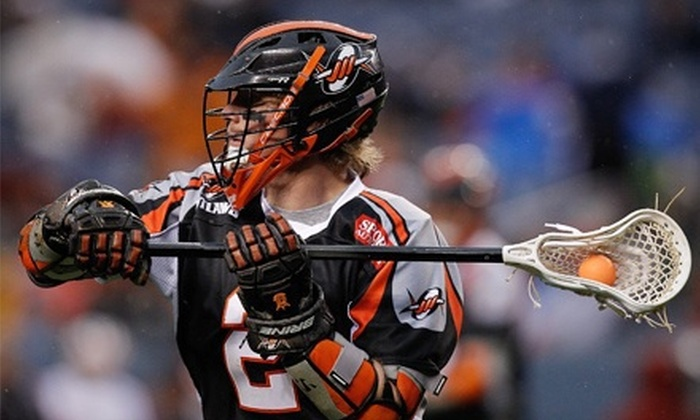 Denver Outlaws - Sun Valley: Two Tickets or One Ticket Package to See a Denver Outlaws Lacrosse Game at Sports Authority Field at Mile High (Up to 61% Off)
