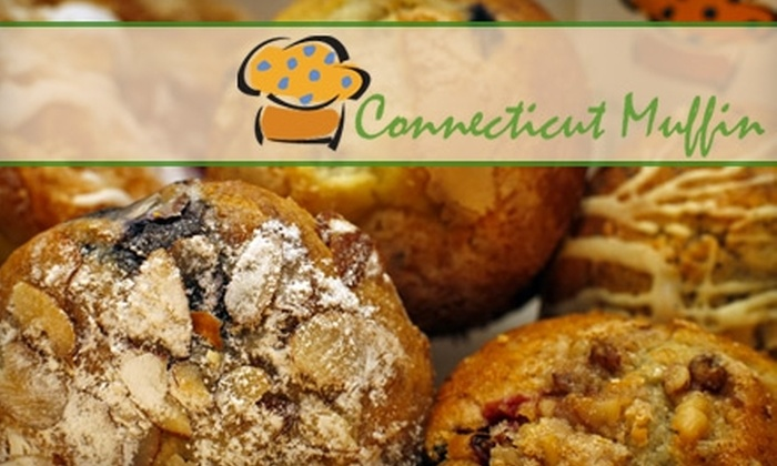 Connecticut Muffin - Multiple Locations: $7 for a Half Dozen Muffins at Connecticut Muffin ($15 Value). Choose from Six Locations.