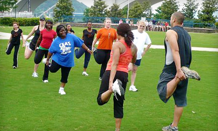 B.U.S.Y. Body Fitness - Multiple Locations: $40 for Eight Boot-Camp Sessions from B.U.S.Y. Body Boot Camp ($97 Value)