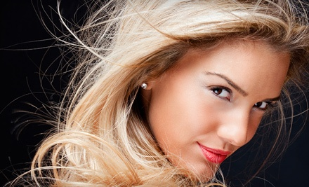 Partial Highlights ($45 value) and Shampoo & Blow-Dry ($25 value; a $70 total value) - M Salon and Spa in Goodyear