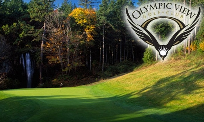 Olympic View Golf Club - Victoria: $85 for a Round of Golf for Two, a Cart, and Two Buckets of Balls at Olympic View Golf Club ($173 Value)