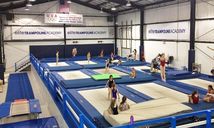 Elite Trampoline & Dance Academy - Middletown: Four-Week Ballet, Tumbling, or Trampoline Class at Elite Trampoline & Dance Academy (Up to 73% Off)