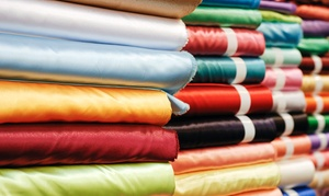 Paron Fabrics: Fabric and Trimmings at Paron Fabrics (Up to 62% Off). Two Options Available.