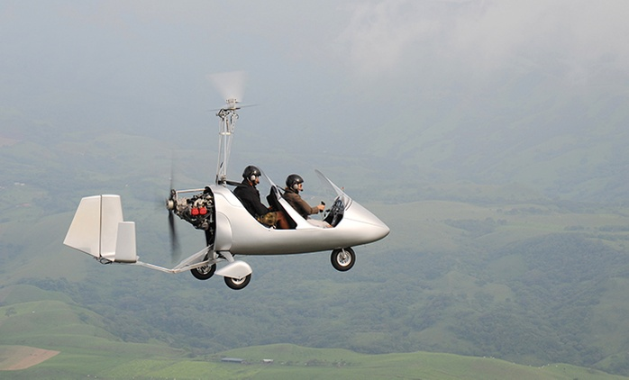 Scenic Gyrocopter Flight - 30 ($69) or 60 Minutes ($109) with Gyrocopter Training Flights Illawarra (Up to $220 Value)