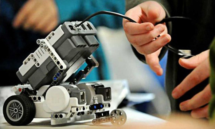 Kids Robotech Club - McKinney: Five-Day Robotics Camp for One or Two Children at Kids Robotech Club (50% Off)