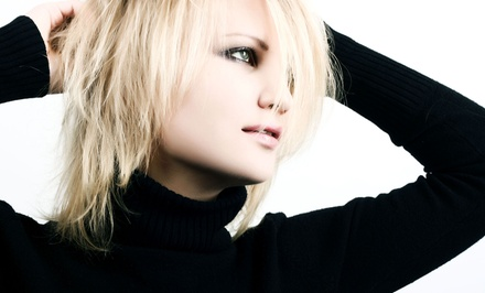 Salon Blowout Packages with Cut and Color at LaSpina Renewed Image Salon (Up to 58% Off). Four Options Available.