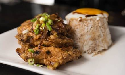 Asian Fusion Entrees and Drinks for Two or Four at Chaise Lounge (Up to 52% Off)