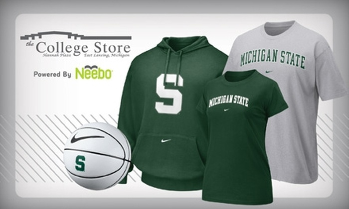 The College Store - East Lansing: $10 for $20 Worth of Apparel, Gifts, and More at The College Store