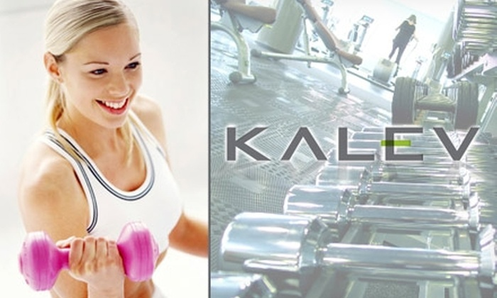 Kalev Fitness Solution - Downtown Vancouver: $29 for 30 Days of Bootcamp and Classes at Kalev Fitness Solution ($179.99 Value)