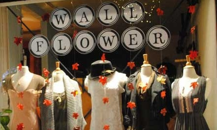 Wallflower Boutique - Downtown Santa Cruz: $15 for $30 Worth Of Women's Clothing and Handmade Accessories at Wallflower Boutique