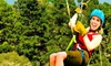 Adventure Park at Five Oaks (SEE ALL 3 INDIVIDUAL ATTRACTION ACCOUNTS) - Sevierville: $29 for a 90-Minute Zipline Excursion at Adventure Park at Five Oaks in Sevierville ($59.99 Value)